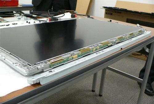 电容式触摸屏UV胶水固化用昀通科技UVLED光固化机