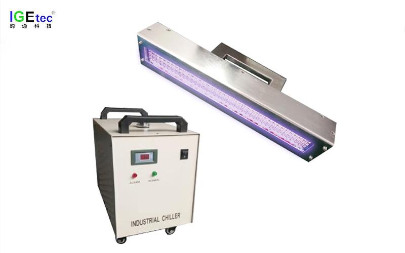【UV油漆固化机】家具UV漆固化用昀通科技手持式UVLED固化机
