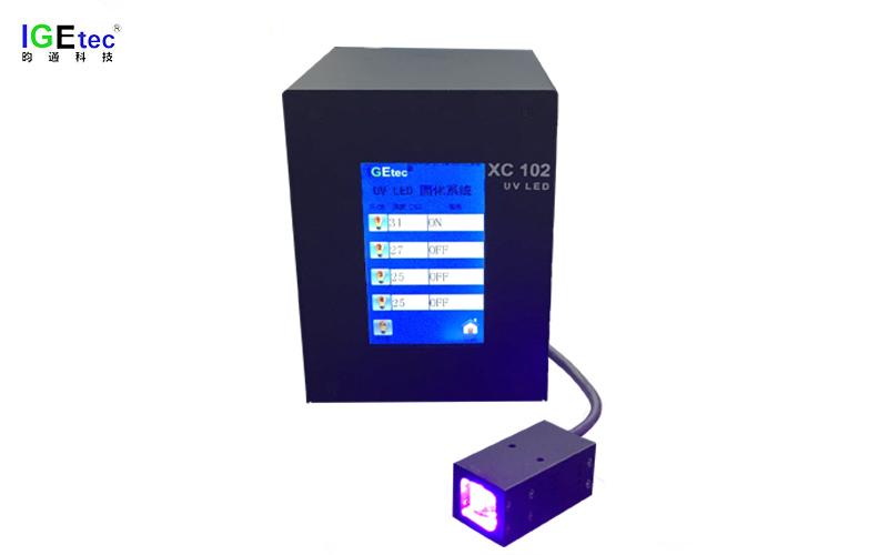 UVLED面光源固化机 XC-102系列 照射面积20*20MM