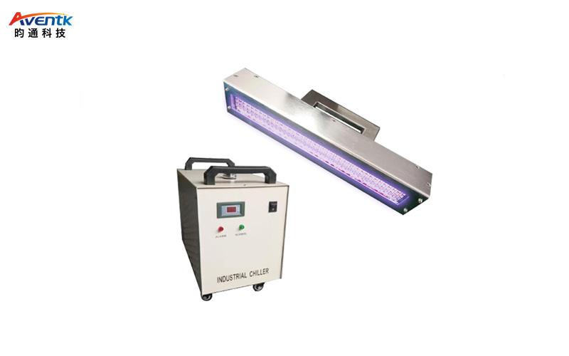 水冷式UVLED线光源固化机 WT-300